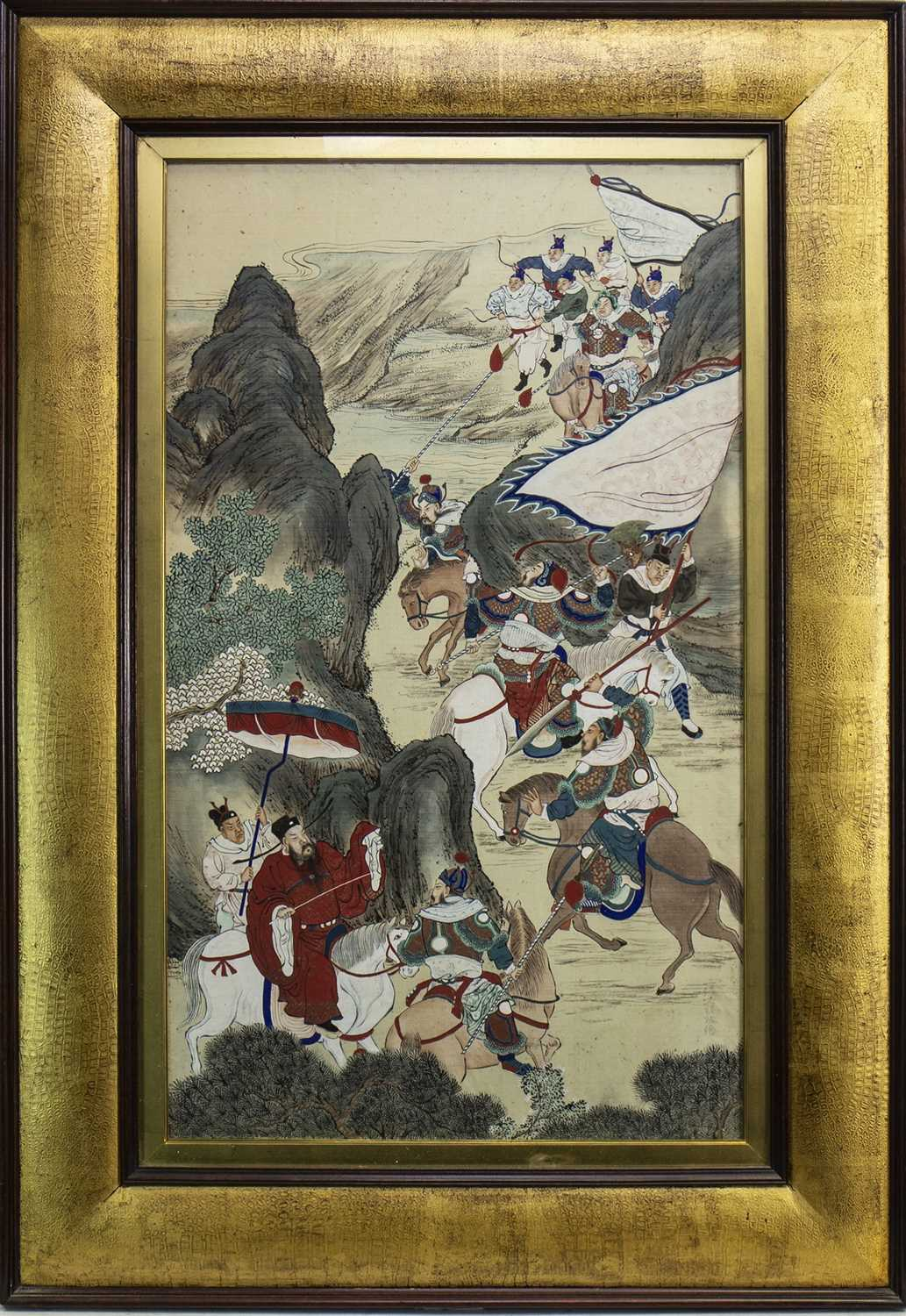 Lot 1005-A 20TH CENTURY CHINESE PAINTING ON SILK