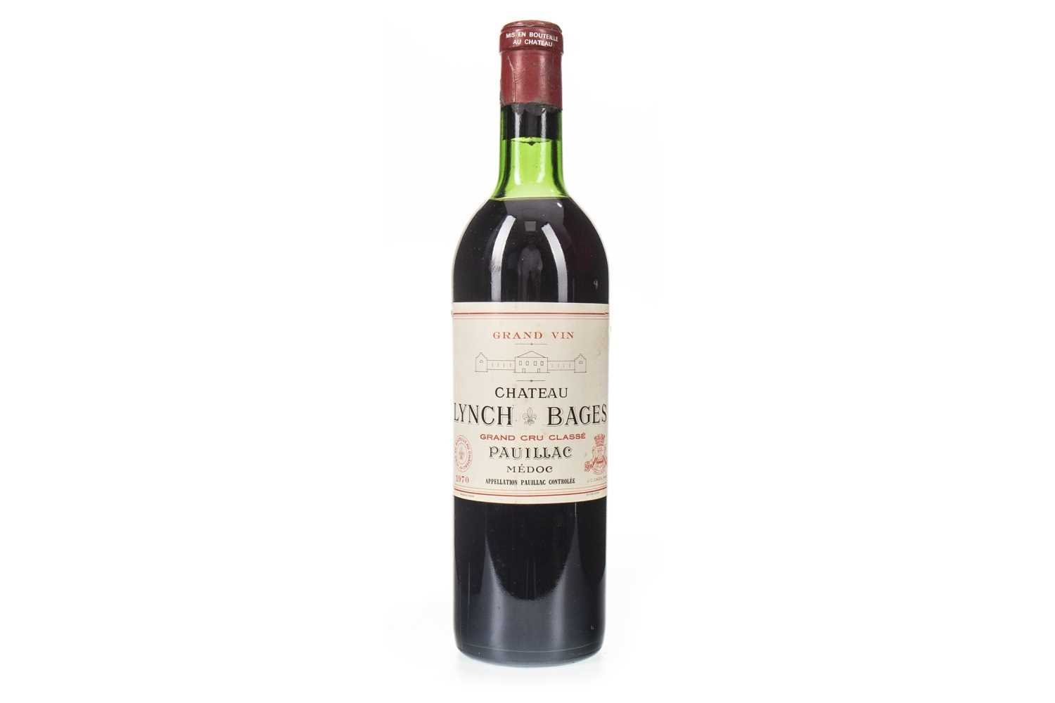 Lot 2008-CHATEAU LYNCH BAGES 1970