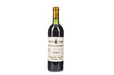 Lot 2016-MARQUES DE MURRIETA  YGAY 1982