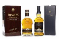 Lot 1019-DEWAR'S SIGNATURE Blended Scotch Whisky. Bottle...