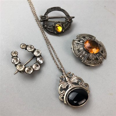 Lot 4-A COLLECTION OF COSTUME JEWELLERY AND TWO WATCHES