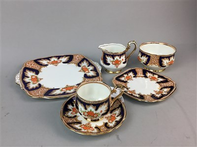 Lot 20-A ROYAL ALBERT ROYALTY CROWN CHINA TEA SERVICE
