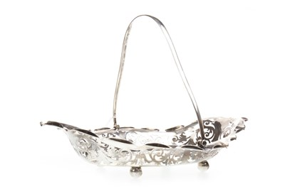 Lot 877-A LATE VICTORIAN SILVER BASKET