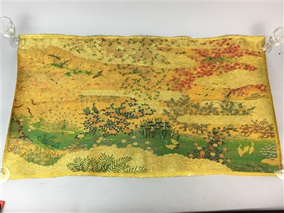 Lot 13-A LATE 20TH CENTURY JAPANESE SCROLL