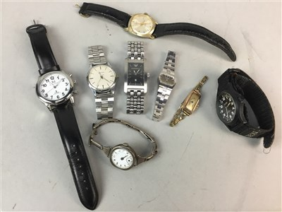 Lot 9-A COLLECTION OF VARIOUS GENTLEMAN'S FASHION WATCHES
