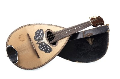 Lot 1432-ITALIAN GUIDO VICENTINI MANDOLIN AND ANOTHER