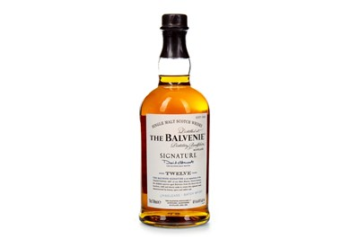 Lot 308-BALVENIE SIGNATURE AGED 12 YEARS - BATCH 1