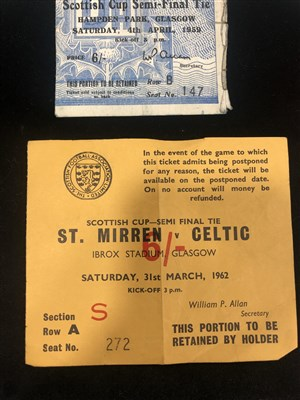 Lot 1914-A COLLECTION OF FOOTBALL PROGRAMMES