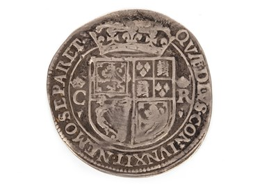 Lot 603 - A SCOTTISH SILVER CHARLES I 12 SHILLING COIN