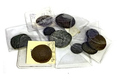 Lot 605 - TEN VARIOUS ANCIENT AND OTHER COINS