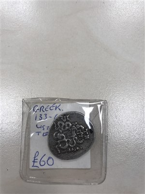 Lot 605-TEN VARIOUS ANCIENT AND OTHER COINS