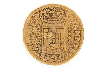 Lot 611-A PORTUGUESE GOLD COIN, 1717