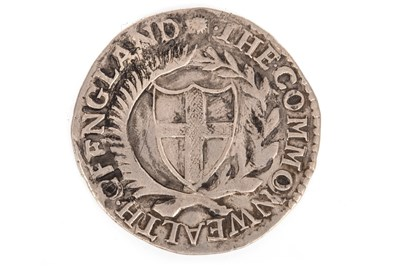 Lot 615-A COMMONWEALTH SHILLING, 1653