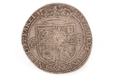 Lot 617-A SCOTTISH SILVER CHARLES I 12 SHILLING COIN