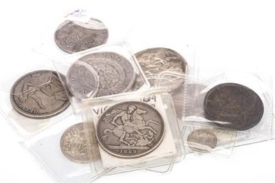 Lot 622-TEN SILVER COINS