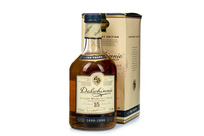 Lot 310-DALWHINNIE 15 YEARS OLD CENTENARY EDITION