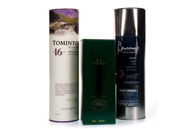 Lot 324-FOUR BOTTLES OF SPEYSIDE SINGLE MALT SCOTCH WHISKY