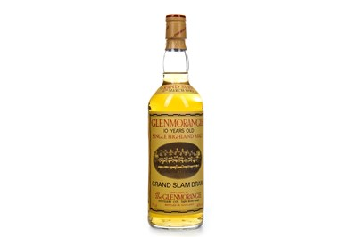 Lot 325-GLENMORANGIE GRAND SLAM DRAM 10 YEARS OLD