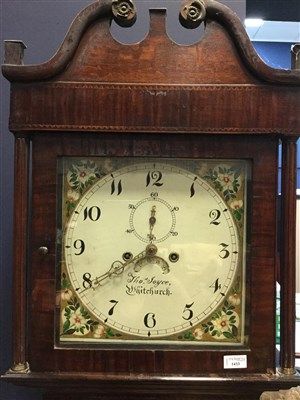 Lot 1433-AN EARLY 19TH CENTURY LONGCASE CLOCK BY THOS. JOYCE OF WHITCHURCH