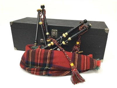 Lot 1-A SET OF CHAMBER BAGPIPES POSSIBLY BY GLEN'S EDINBURGH