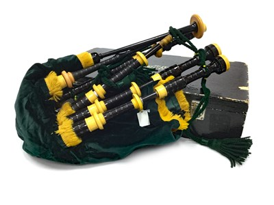 Lot 6-A SET OF HIGHLAND BAGPIPES POSSIBLY BY HUGH MCPHERSON OF EDINBURGH
