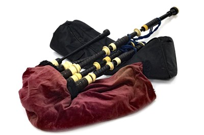Lot 7-A SET OF HIGHLAND BAGPIPES
