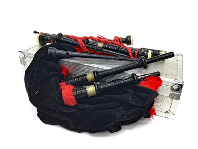 Lot 11-A SET OF HIGHLAND BAGPIPES