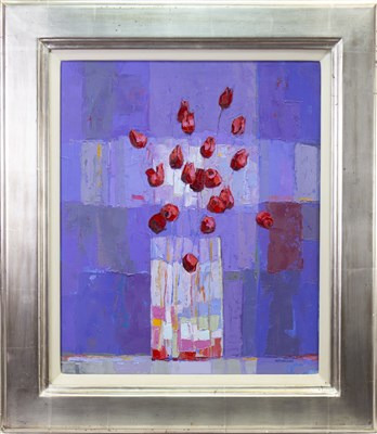 Lot 578-SULTRY BIG BUNCH, AN OIL BY KIRSTY WITHER