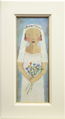 Lot 606-LILY, AN OIL BY CATRIONA MILLAR