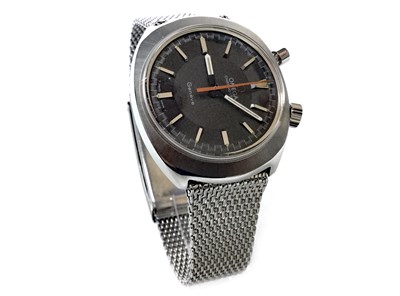 Lot 810-RARE: A GENTLEMAN'S OMEGA CHRONOSTOP GENEVE WATCH