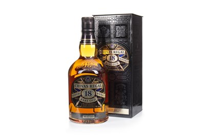 Lot 426-CHIVAS REGAL RARE OLD 18 YEARS OLD