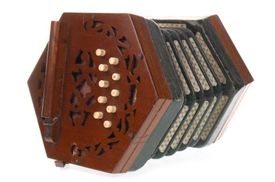 Lot 1442-AN EARLY 20TH CENTURY CONCERTINA BY J. WALLIS