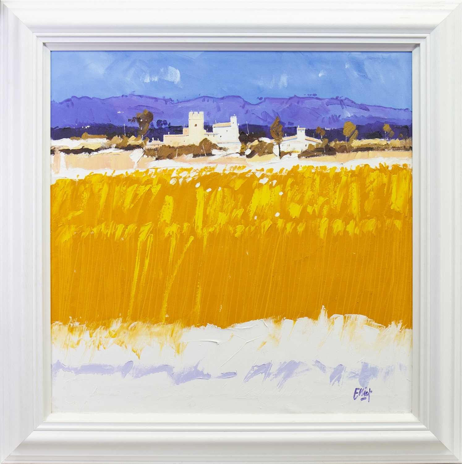 Lot 538-CAMPO DE MALLORCA, AN OIL BY IAIN SCOTT ELLIOT