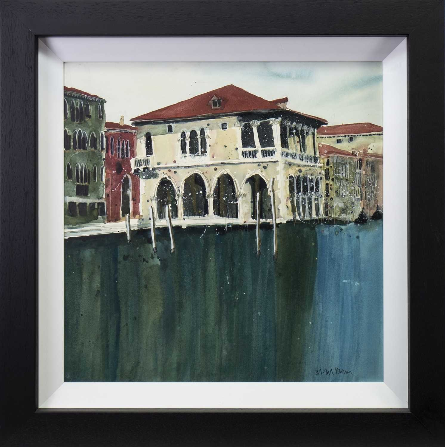 Lot 541-COLOURS OF VENICE II,  BY SUSAN BROWN