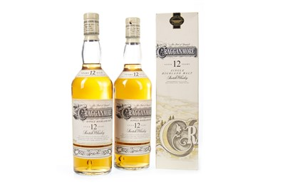 Lot 305-TWO BOTTLES OF CRAGGANMORE 12 YEARS OLD