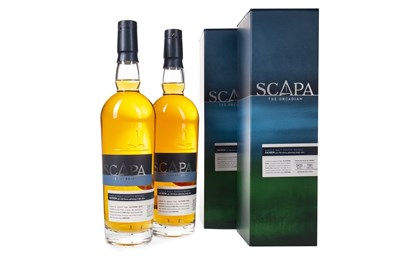 Lot 306-TWO BOTTLES OF SCAPA SKIREN