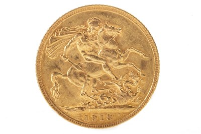 Lot 506-A GOLD SOVEREIGN, 1913