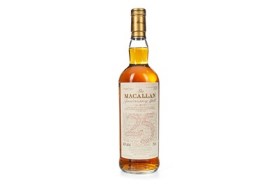 Lot 11-MACALLAN 1965 ANNIVERSARY MALT 25 YEARS OLD