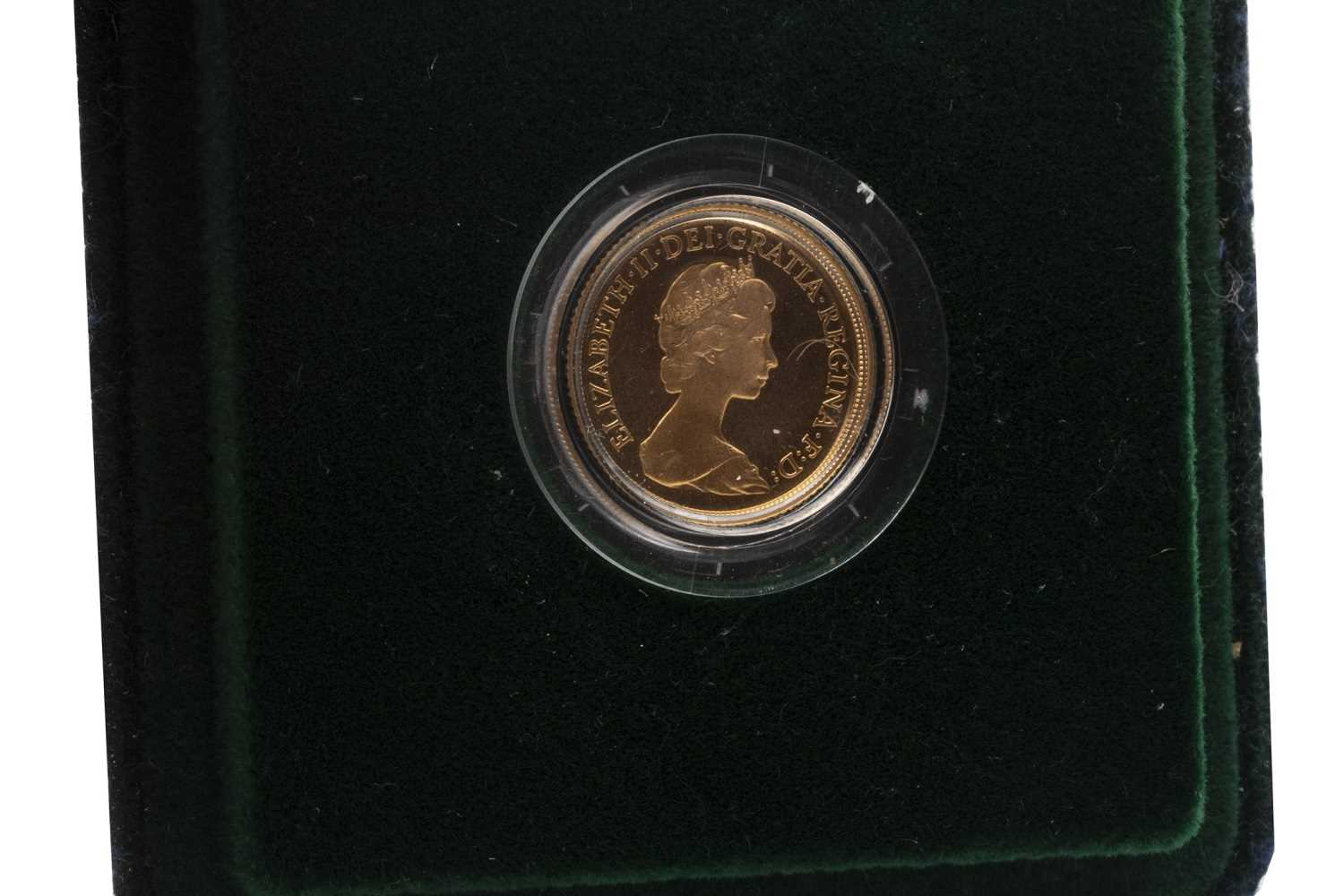 Lot 508-A GOLD PROOF SOVEREIGN, 1980