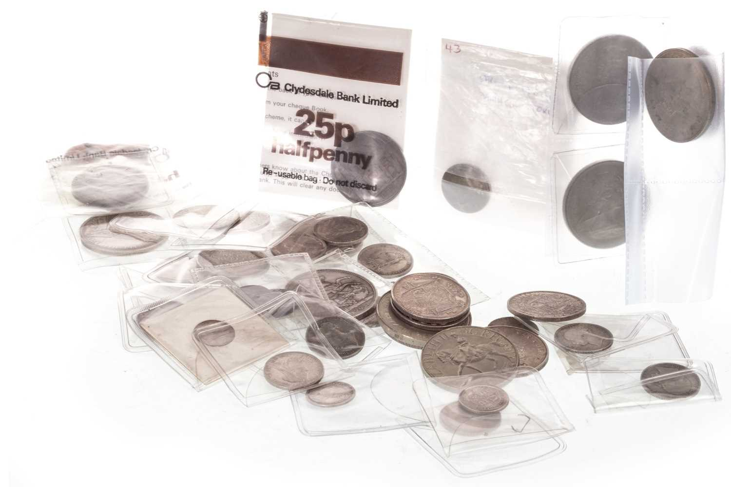 Lot 510-A COLLECTION OF 18TH, 19TH AND 20TH CENTURY COINS