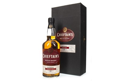 Lot 15-GLENUGIE 1981 CHIEFTAINS 22 YEARS OLD