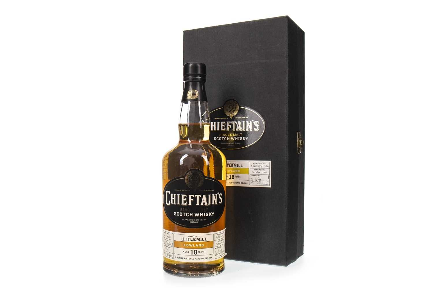 Lot 14-LITTLEMILL 1984 CHIEFTAINS 18 YEARS OLD