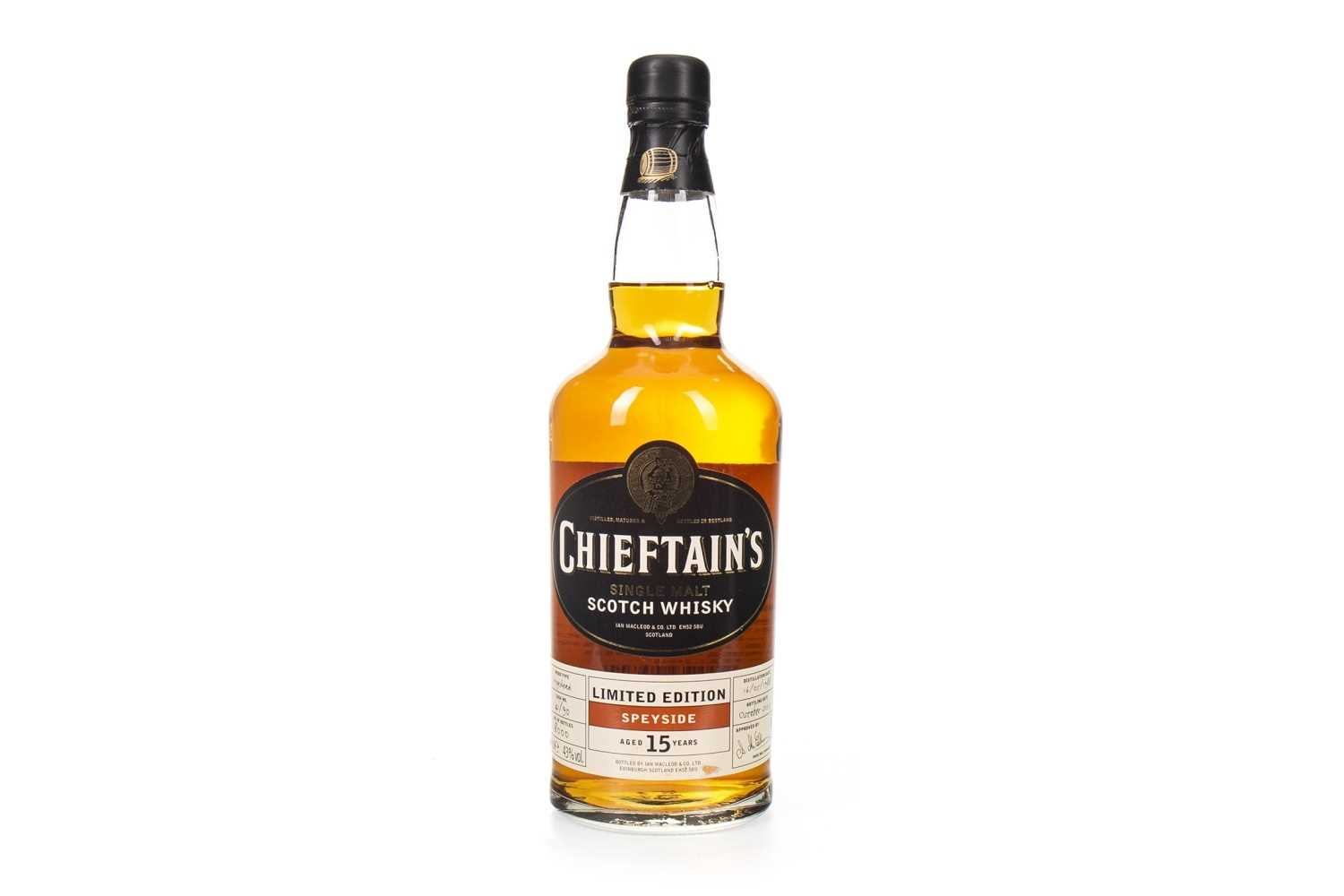 Lot 9-SPEYSIDE 1988 CHIEFTAINS AGED 15 YEARS