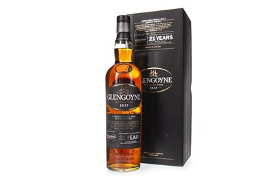 Lot 16-GLENGOYNE 21 YEARS OLD
