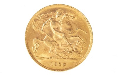 Lot 511-A GOLD HALF SOVEREIGN, 1912