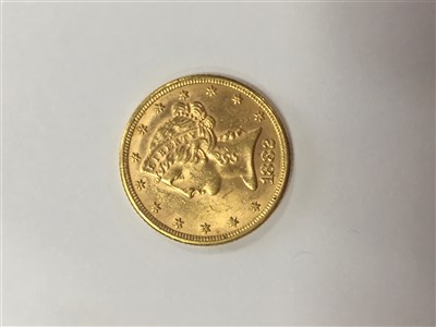 Lot 512-A USA FIVE DOLLAR GOLD COIN, 1882
