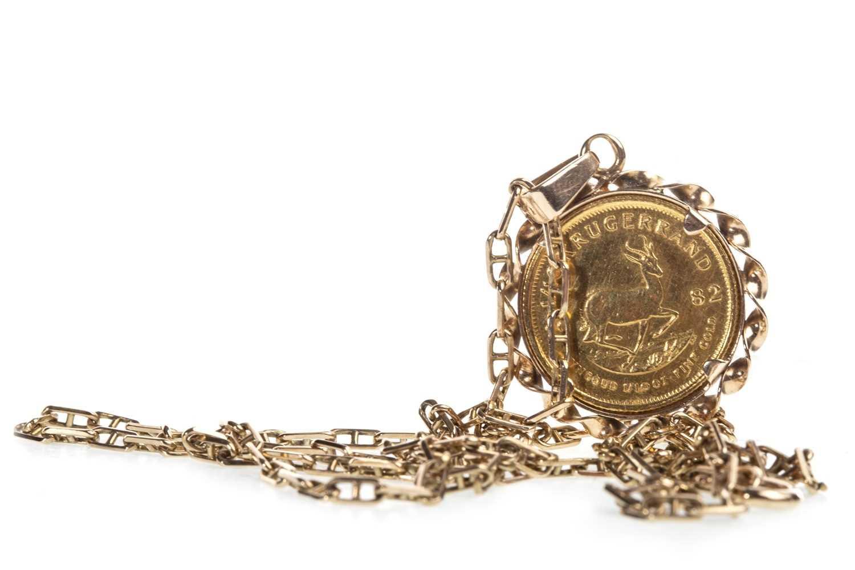 Lot 513-A 1/10 KRUGERRAND COIN, 1982