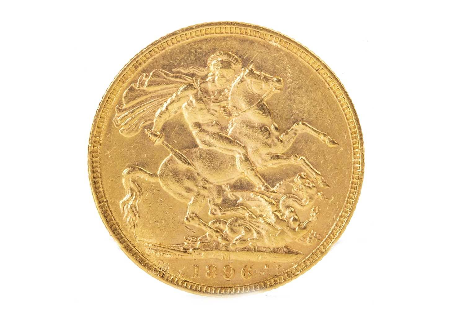Lot 514-A GOLD SOVEREIGN, 1896