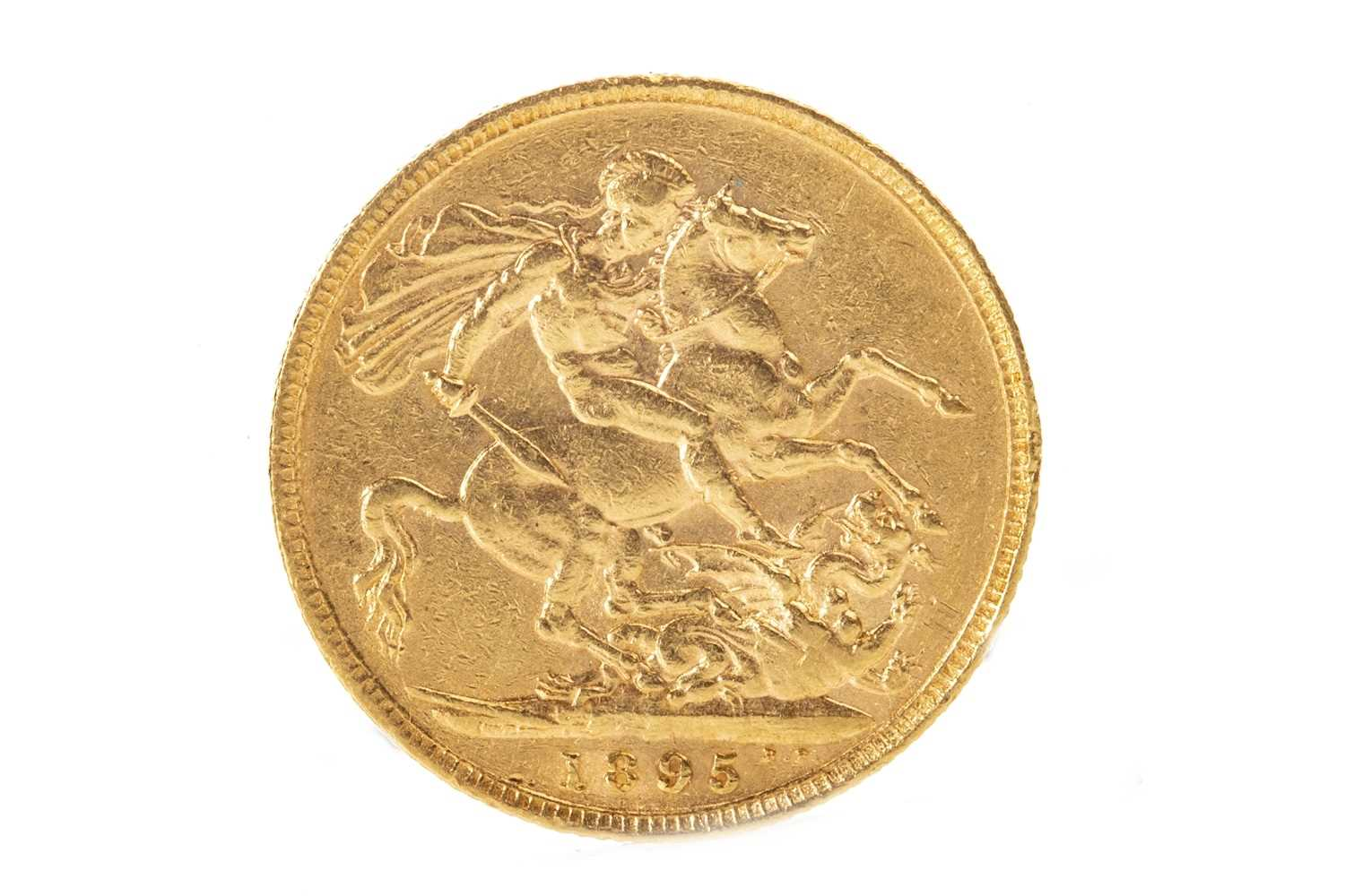 Lot 516-A GOLD SOVEREIGN, 1895