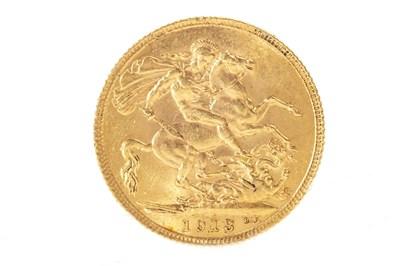 Lot 517-A GOLD SOVEREIGN, 1913